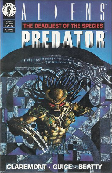 Aliens/Predator: The Deadliest of the Species 1-A by Dark Horse
