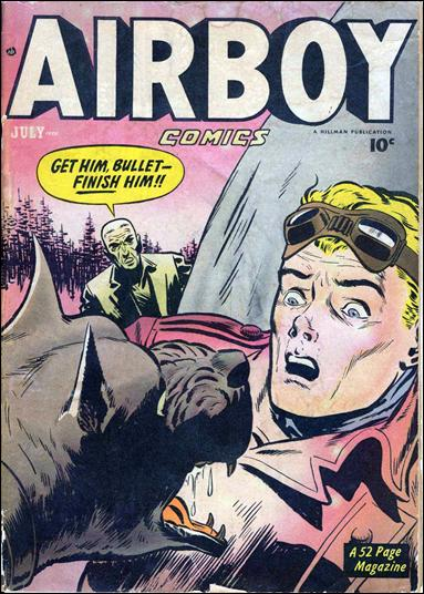 Airboy Comics (1950) 6-A by Hillman