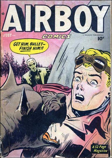 Airboy Comics (1950) 6-A by Hillman