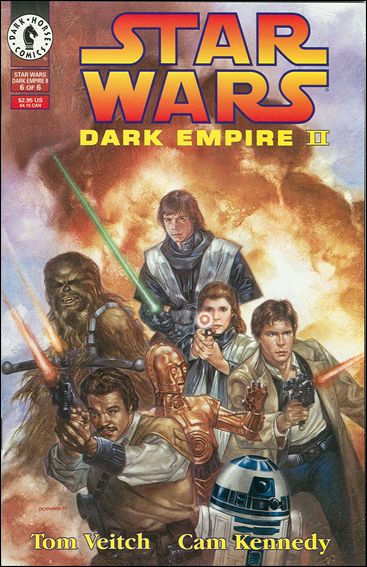 Star Wars: Dark Empire II 6-A by Dark Horse