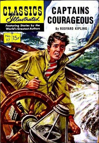 Classic Comics/Classics Illustrated 117-A by Gilberton
