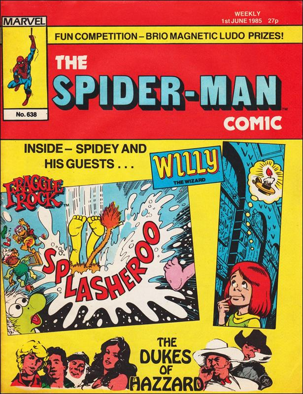 Spider-Man: Comics Weekly (UK) 638-A by Marvel UK
