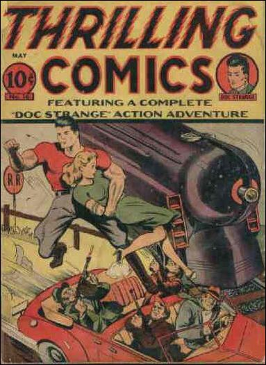 Thrilling Comics (1940) 16-A by Standard