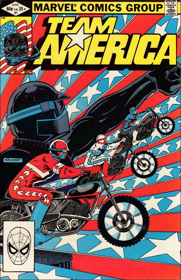 Team America 1-A by Marvel