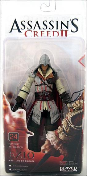 Assassin's Creed II Ezio (White Outfit) by NECA