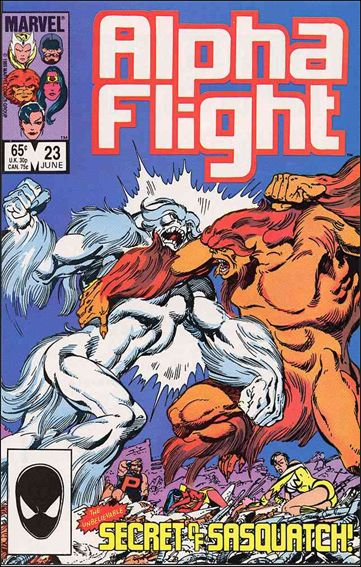 Alpha Flight (1983) 23-A by Marvel