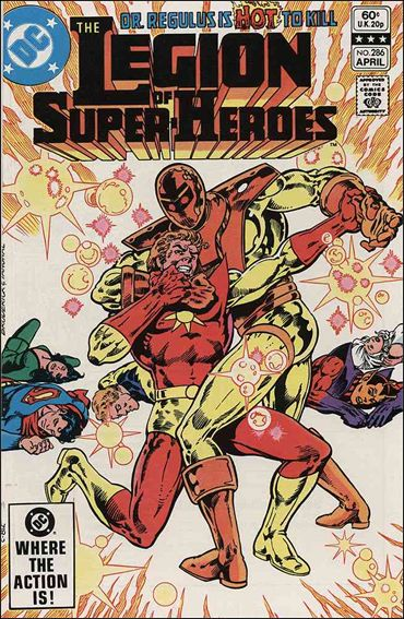 Legion of Super-Heroes (1980) 286-A by DC