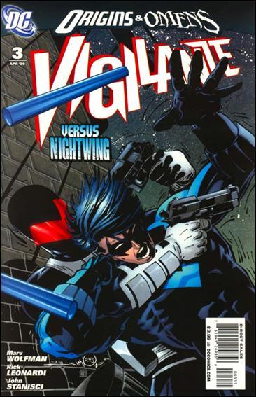 Vigilante (2009) 3-A by DC