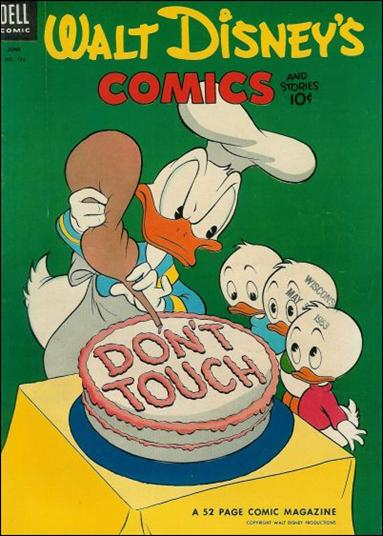 Walt Disney's Comics and Stories (1940) 153-A by Dell