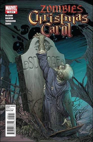 Marvel Zombies Christmas Carol 5-A by Marvel