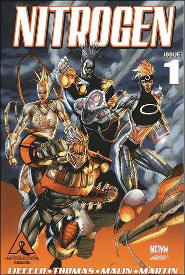 Nitrogen 1-C by Arcade Comics