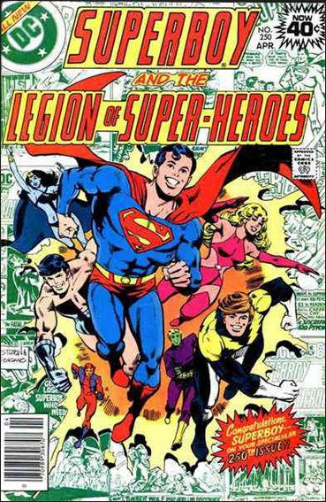 Superboy and the Legion of Super-Heroes 250-A by DC