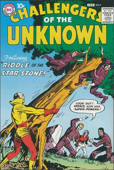 Challengers of the Unknown (1958) 5-A by DC