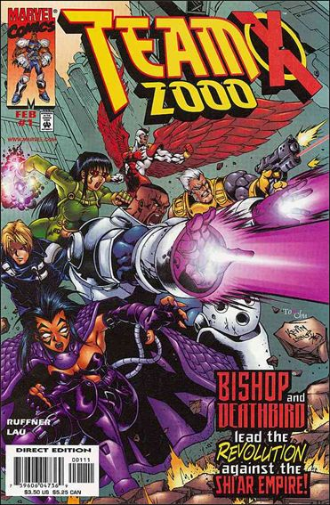 Team X 2000 1-A by Marvel