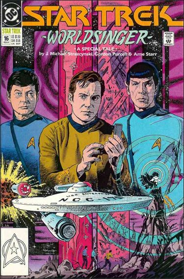 Star Trek (1989) 16-A by DC