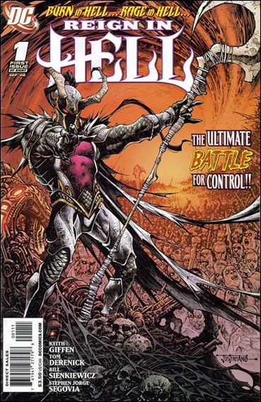 Reign in Hell 1-A by DC