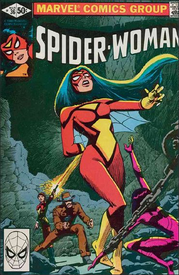 Spider-Woman (1978) 36-A by Marvel