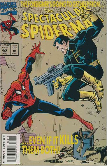 Spectacular Spider-Man (1976) 209-A by Marvel