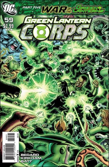 Green Lantern Corps (2006) 59-B by DC