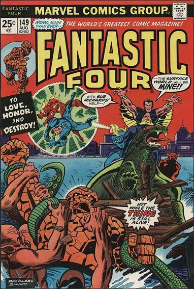 Fantastic Four (1961) 149-A by Marvel