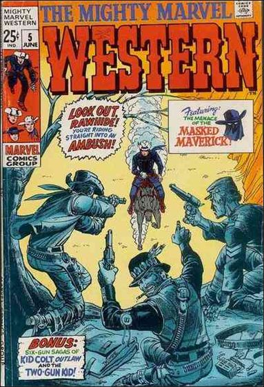 Mighty Marvel Western 5-A by Marvel