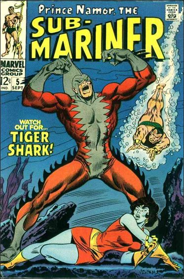 Sub-Mariner (1968) 5-A by Marvel