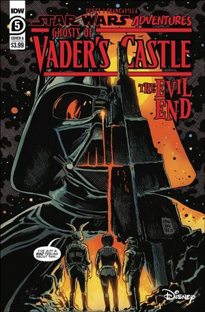 Star Wars Adventures: Ghosts of Vader's Castle 5-A