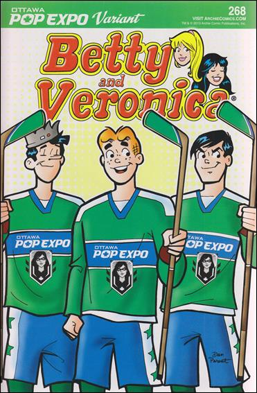 Betty and Veronica 268 C, Dec 2013 Comic Book by Archie
