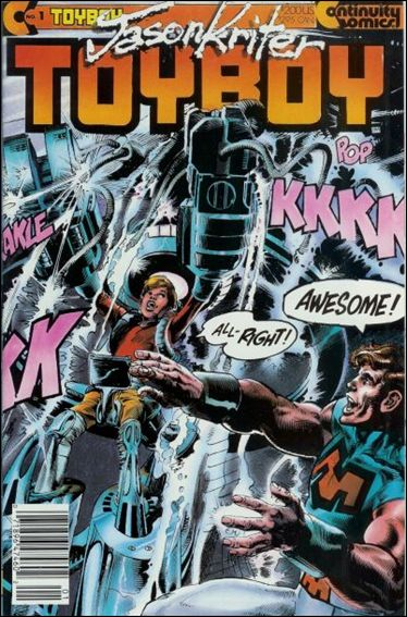 Toyboy 1-A by Continuity Comics