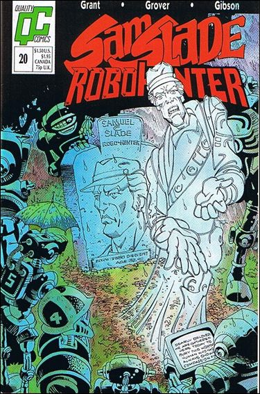 Sam Slade Robo Hunter 20-A by Quality Comics