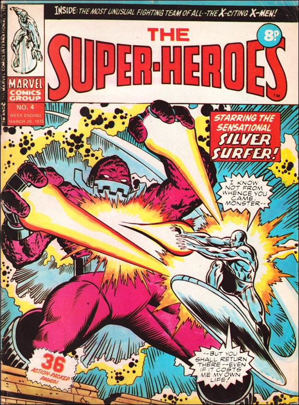 Super-Heroes (UK) 4-A by Marvel UK