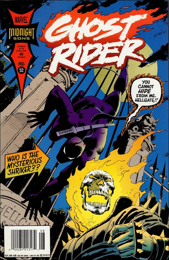 Ghost Rider (1990) 52-A by Marvel