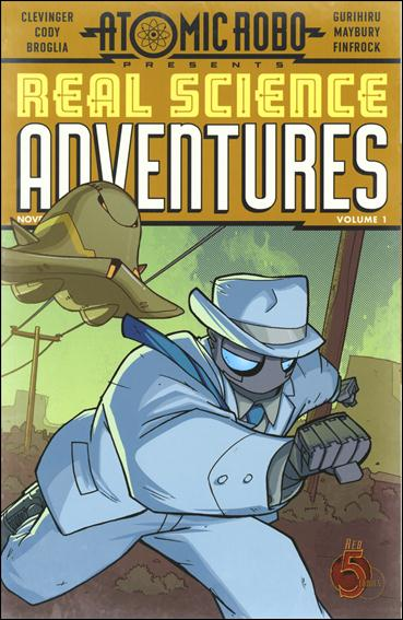 Atomic Robo Presents Real Science Adventures 1-A by Red 5 Comics