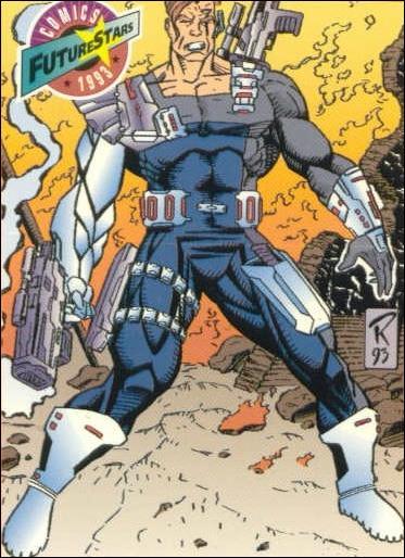 Comics FutureStars (Base Set) 96-A by Majestic Entertainment
