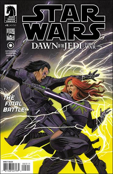Star Wars: Dawn of the Jedi - Force War 5-A by Dark Horse