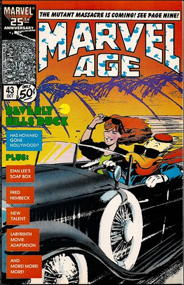 Marvel Age 43-A by Marvel