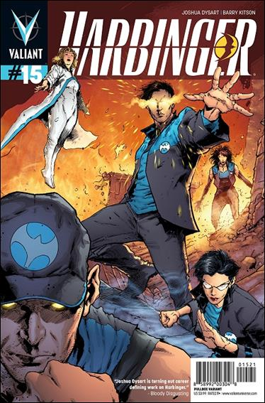 Harbinger (2012) 15-B by Valiant Entertainment