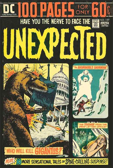 Unexpected (1968) 157-A by DC