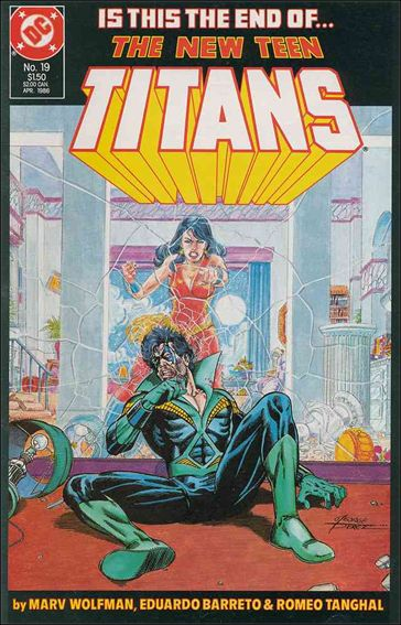 New Teen Titans (1984) 19-A by DC