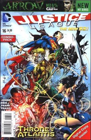 Justice League (2011) 16-B by DC