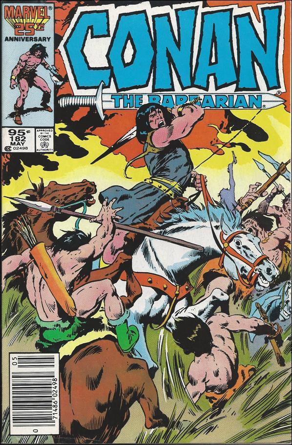Conan the Barbarian (1970) 182-B by Marvel