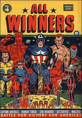 All-Winners Comics (1941) 4-A by Marvel