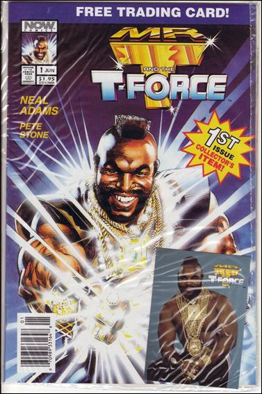 Mr. T and the T-Force 1-C by Now Comics