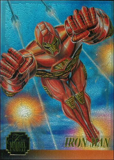Marvel Annual Flair '95 (Chromium Subset) 3-A by Fleer