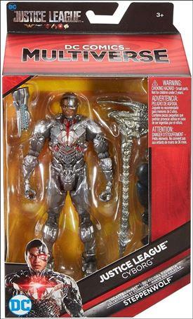 DC Comics Multiverse (Steppenwolf Series) Cyborg