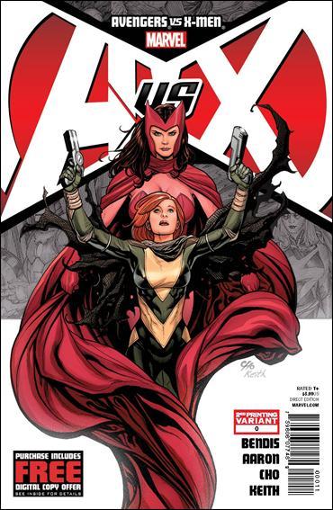 Avengers vs X-Men 0-D by Marvel