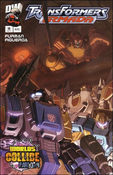 Transformers: Armada (2002) 16-A by Dreamwave