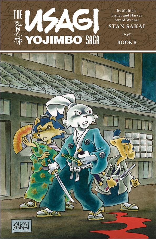 Usagi Yojimbo Saga 8-A by Dark Horse