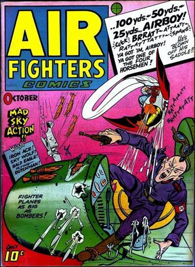 Air Fighters Comics (1943) 1-A by Hillman