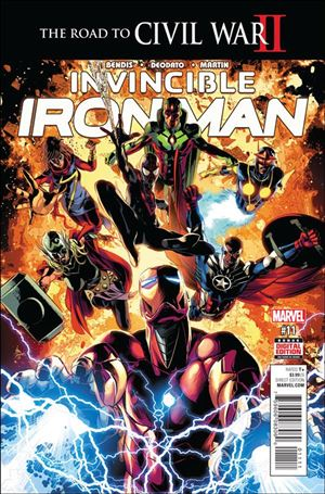 Invincible Iron Man (2015)  11-A